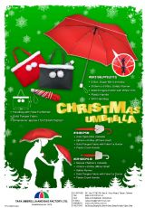 CHRISTMAS UMBRELLA