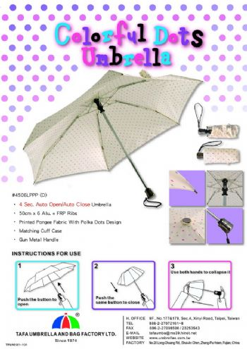 Colorful Dots Umbrella