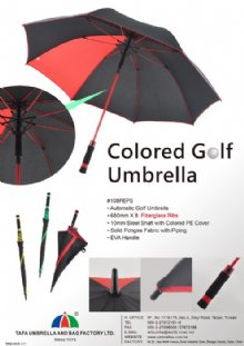 Colored Golf Umbrella