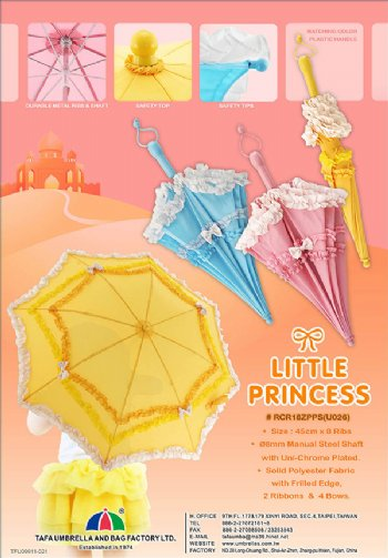CHILDRE RUFFLE UMBRELLA
