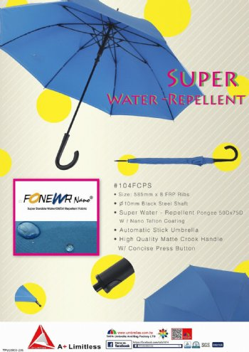 Super Water Repellent Umbrella